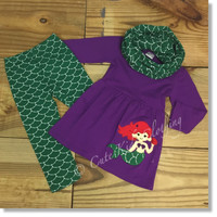 Mermaid Scarf Outfit