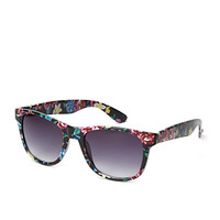 F8702 Flower Child Wayfarer Sunglasses
