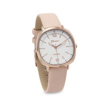 Beautifully Geneva Blush Fashion Watch