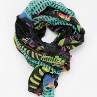 Deena & Ozzy Oversized Tropical Scarf