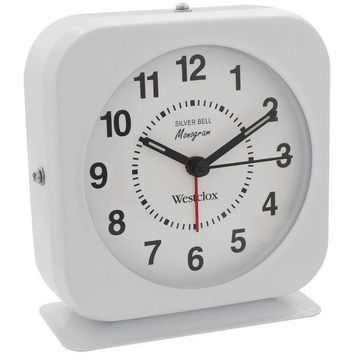 LMFMS9 Westclox Bell Alarm Clock With Metal Case