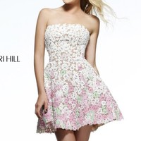 Floral Cocktail Dress by Sherri Hill