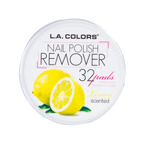 LA Colors - Nail Polish Remover Pads - Lemon