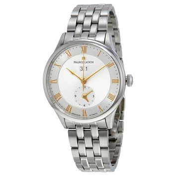 Maurice Lacroix Masterpiece Tradition Silver Dial Mens Watch MP6707-SS002-111