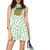 Pineapple Pattern Summer Fashion Style Lovely Women Gift - dress = 4725342788