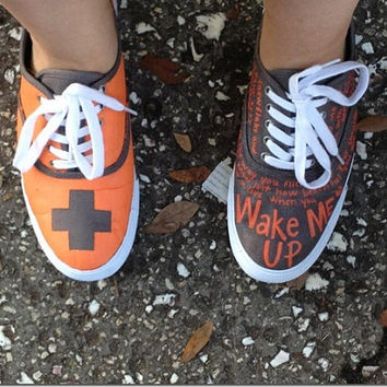 Ed Sheeran Shoes (Custom)