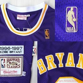rare kobe bryant 8 los angeles lakers new hardwood classic nba jersey la lakers basket  number 2