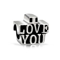 Bling Jewelry Love You Babe Charm