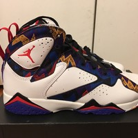 "Nike Air Jordan 7 Retro ""nothing but Net Sweater"" size 7y"