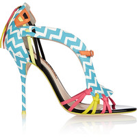 Sophia Webster - Liberty printed leather sandals