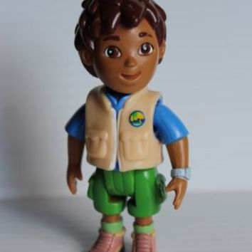 DIEGO ADVENTURE FIGURE Go Diego Go pvc Collectible Toy