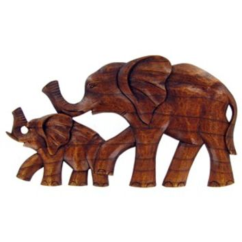 Wood Elephant Family Wall Decor | Shop Hobby Lobby