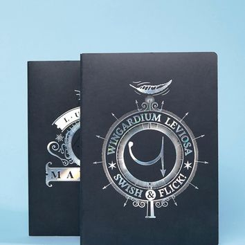 Harry Potter Notebooks Set of 2 at asos.com