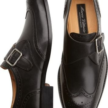 Marco Vittorio Rodi Black Monk Strap Shoes - Dress Shoes | Men's Wearhouse