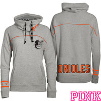 Baltimore Orioles Victoria's Secret PINK® Cowl Neck Pullover Hoodie - MLB.com Shop