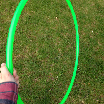 UV Reactive Green Polypro Hula Hoops