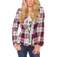 Erica Plaid Jacket