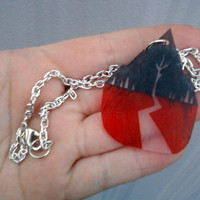 Sleeping With Sirens Inspired Necklace by BurritoPrincess on Etsy
