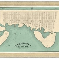 Map of Lavallette, Maps