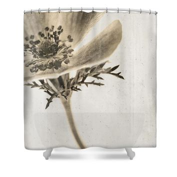 Faded Memory Shower Curtain