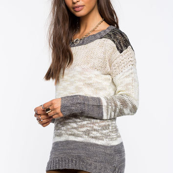 Colorblocked Cozy Sweater