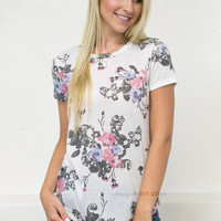 Elegant Carnation Top