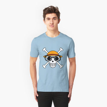 'one piece glasses' T-Shirt by COLUMUSCLOUDS
