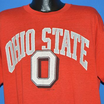 80s Ohio State Buckeyes Distressed t-shirt XXL
