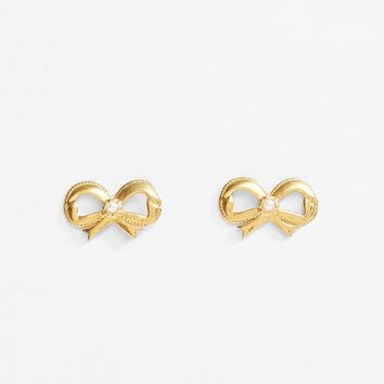 Bow with Pearl Earrings by Simone Rocha- La Garçonne