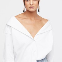 Free People Solid Off The Shoulder