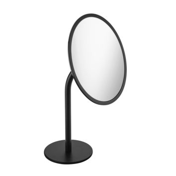 Britta Free Standing 3X Cosmetic Makeup Magnifying Mirror Brass Coated