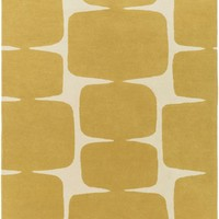 Scion Area Rug Yellow, Neutral