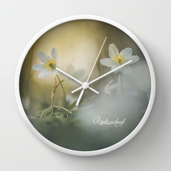 Untouched 2 Wall Clock by HappyMelvin