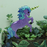 Unicorn Mini planter stake for house plants