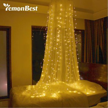 3*3m 300-LED Christmas Lights Outdoor/Indoor Fairy Curtain