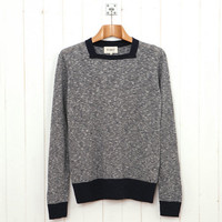 YMC Square Neck Knit (Navy) from Oi Polloi
