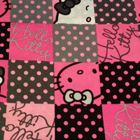 Personalized Hello Kitty Polka Dot Crayon Roll