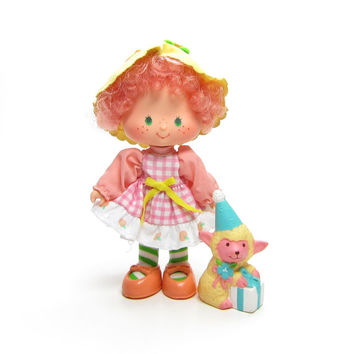 Peach Blush Doll Party Pleaser Vintage Strawberry Shortcake with Melonie Belle