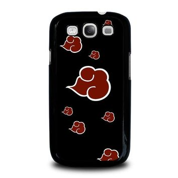 naruto akatsuki clouds samsung galaxy s3 case cover  number 2