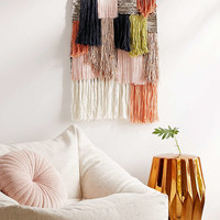Woven Fringe Wall Hanging - Urban Outfitters