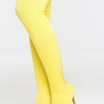 Manhattan Boots - Yellow