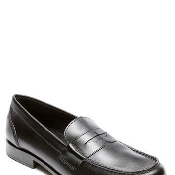 Men's Rockport Leather Penny Loafer,