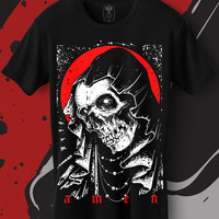 Amen. Bokko and belial. gothic online store.Women and men shirts.