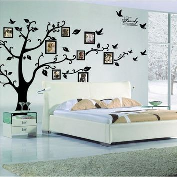 Photo Frame Family Tree Vinyl Wall Sticker