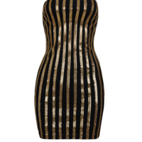 Klema Black & Gold Dress