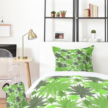 Viviana Gonzalez Greenery Sensation 03 Bed In A Bag | DENY Designs Home Accessories