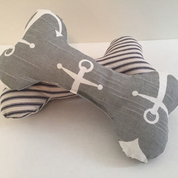 Plush dog toy bone, Plush Sqeaker dog bone toy, dog gifts