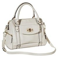 Merona® Satchel Handbag with Removable Crossbody Strap - Cream
