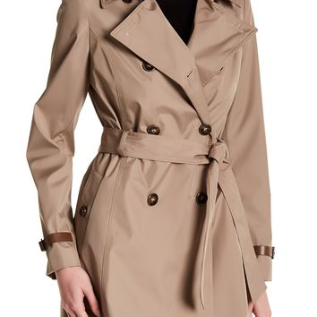Via Spiga | Double Breasted Trench Coat | Nordstrom Rack