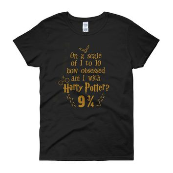 Obsessed With Harry Potter Women'S T Shirt